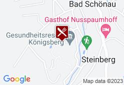 Gesundheitsresort Königsberg - Karte