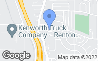Map of Renton, WA