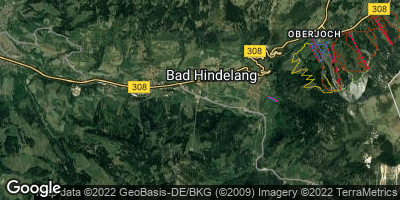 Google Map of Bad Hindelang