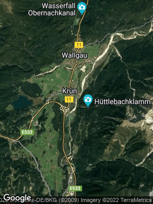 Google Map of Krün