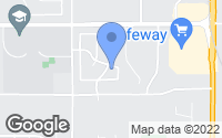 Map of Cheney, WA