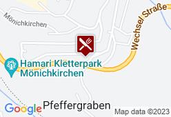 Gasthaus 3-Länderblick - Karte
