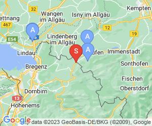 Karte für Golfpark Bregenzerwald