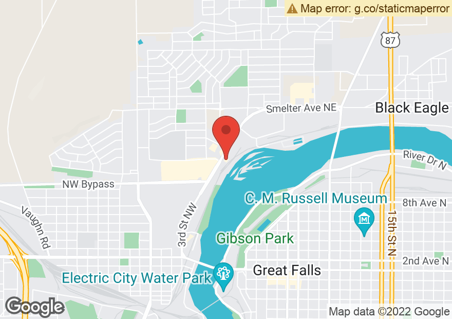 Google Map of 1213 3RD ST NW