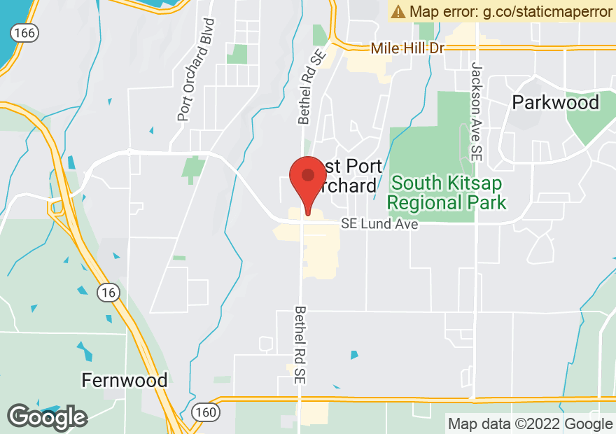 Google Map of 3099 BETHEL RD SE