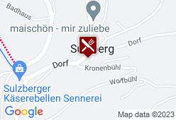 Gasthof Alpenblick - Karte