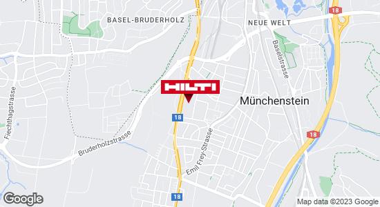 Wegbeschreibung zu Hilti Store Basel