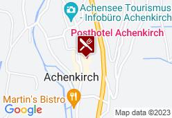 Posthotel Achenkirch - Karte