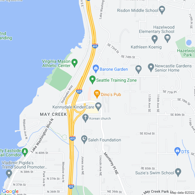Map of Toll Road | I 405 Express Lanes