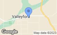 Map of Valleyford, WA