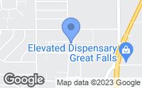 Map of Great Falls, MT