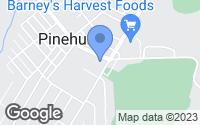 Map of Pinehurst, ID