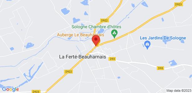 Locaux d'activités industriels à louer (1300m²) à La Ferté Beauharnais