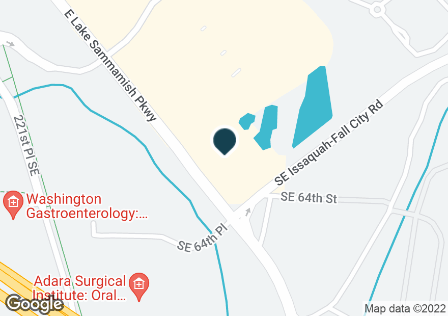 Google Map of6300 E LAKE SAMMAMISH PKWY SE
