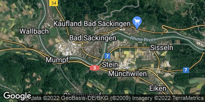 Google Map of Bad Säckingen
