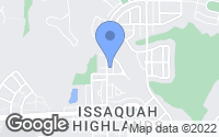 Map of Issaquah, WA