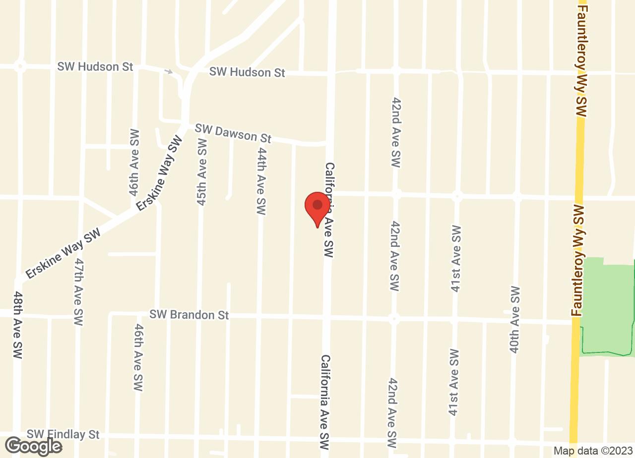 Google Map of VCA West Seattle Veterinary Hospital
