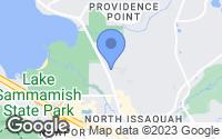 Map of Issaquah, WA