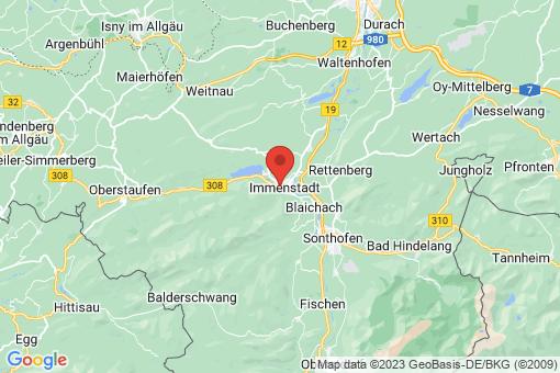Karte Immenstadt im Allgäu