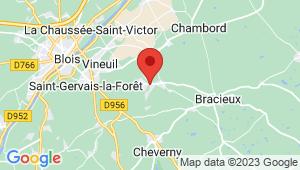 Carte de localisation du centre de contrôle technique MONT PRES CHAMBORD