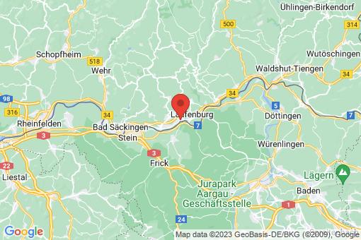 Karte Laufenburg