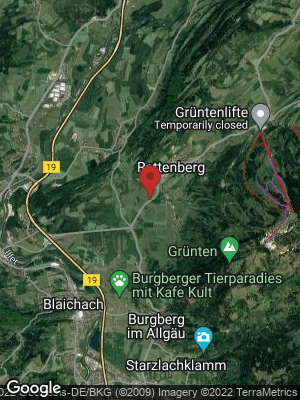 Google Map of Altach