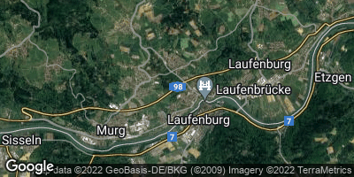 Google Map of Laufenburg