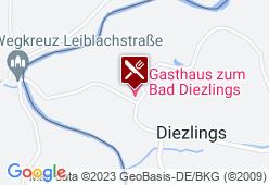 Gasthaus zum Bad Diezlings - Karte