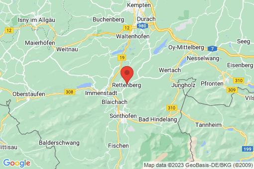 Karte Rettenberg