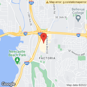 Map of Dr. Scott M. Smith at 3923 Factoria Square Mall SE, Bellevue, WA 98006