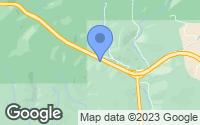 Map of Cataldo, ID
