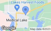 Map of Medical Lake, WA