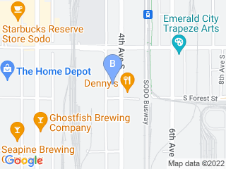 Map of Seattle Canine Club Dog Boarding options in Seattle | Boarding