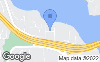 Map of Mercer Island, WA