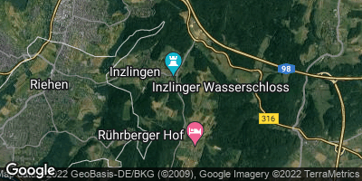 Google Map of Inzlingen