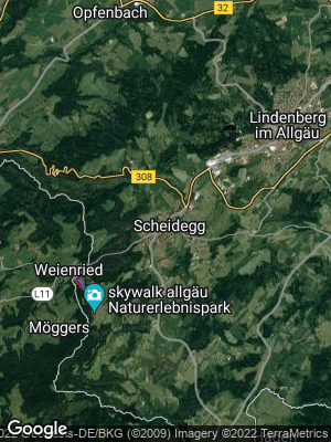 Google Map of Scheidegg