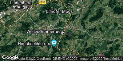 Google Map of Weiler-Simmerberg
