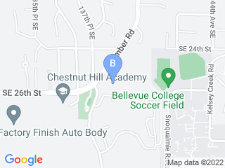 Map of Debbie's Pet and House Sitting Dog Boarding options in Bellevue | Boarding