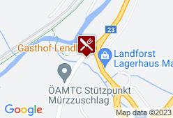 Gasthof Lendl - Karte