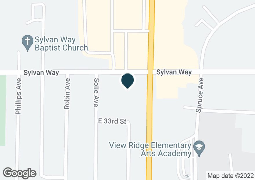 Google Map of3333 WHEATON WAY