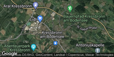 Google Map of Kressbronn am Bodensee
