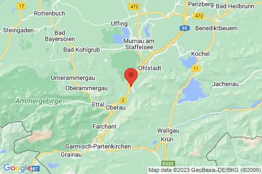 Karte Eschenlohe
