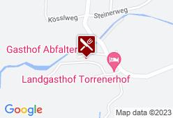 Gasthof Abfalter - Karte