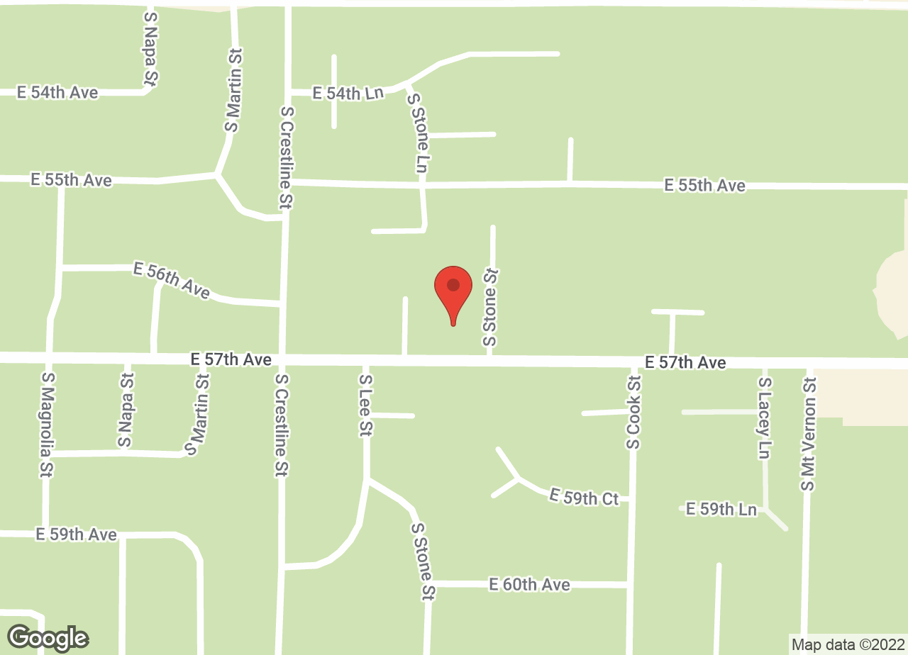 Google Map of VCA Manito Animal Hospital
