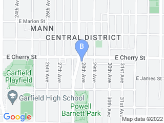 Map of PLAY Doggie Daycare Dog Boarding options in Seattle | Boarding