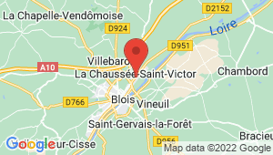 Carte de localisation du centre de contrôle technique LA CHAUSSEE SAINT VICTOR