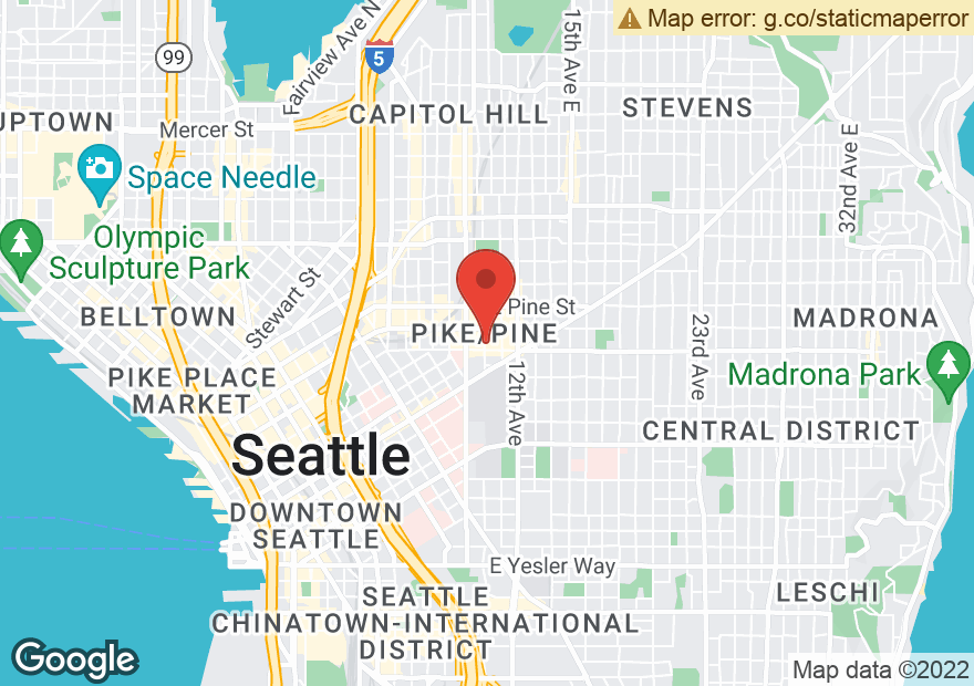 Google Map of 1409 11TH AVE