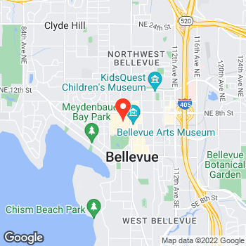 Map of Ann Taylor at 575 Bellevue Square, Bellevue, WA 98004