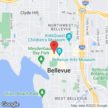 Map of Michael Kors at 111 Bellevue Square, Bellevue, WA 98004