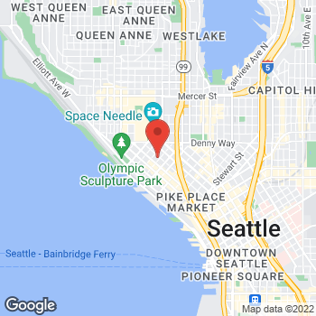 Map of Rite Aid at 2603 Third Avenue, Seattle, WA 98121
